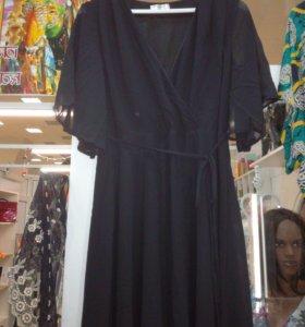 Женственное, шифоновое платье (46)