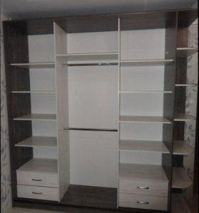 Встроенные шкафы-купе на заказ