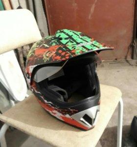 Кроссовый шлем Racer