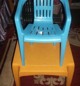 Столик со Стульчиком детский