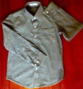 Рубашка- джинсовка