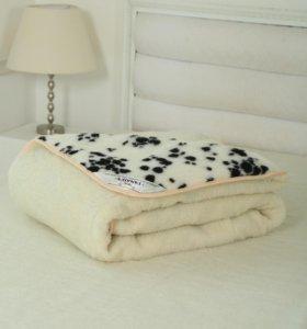Одеяла из овечьей шерсти.