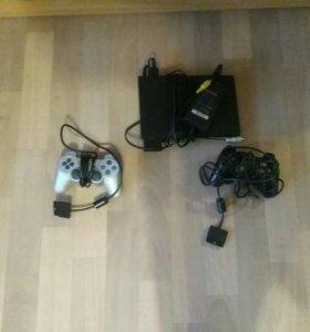 Sony PlayStation 2 в отличном состоянии