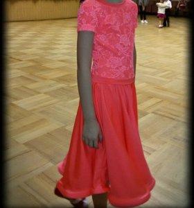 рейтинговое платье для бальных танцев для девочек