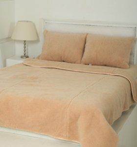 Одеяла пледы из шерсти