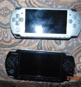 2 приставки PSP