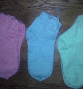 Носки ручная вязка