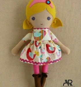Куколки из фетра, ручная работа