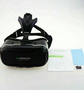 3D очки Shinecon 2.0 с джойстиком