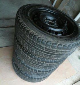 Шины, диски, колёса в сборе на TOYOTA