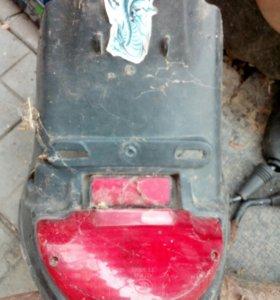 Стопфара на скутер