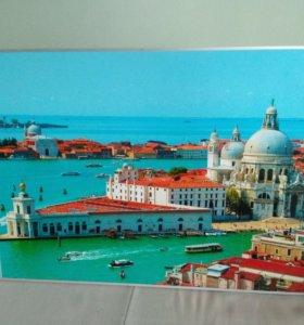 Картина. Пейзаж. Фото. Постер. В рамке.
