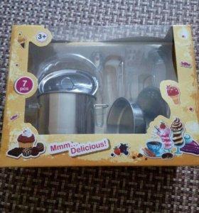 Набор детской кухонной посуды
