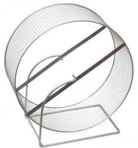 Беговое колесо, 20 см. мелкая сетка