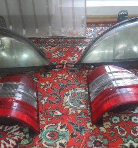 Продам передние фары и задние фонари на МЛ 163