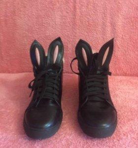 Ботинки зайки