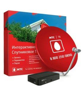 Спутниковое ТВ, МТС и Триколор