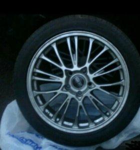 Шины и диски OZ-racing Botticelli R19