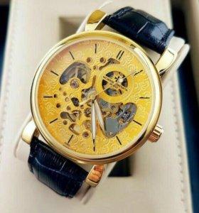 Мужские часы Vacheron Constantin Skeleton.