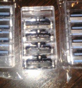 станки (сменные лезвия) для бритвы жилет мак 3