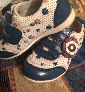 Ботинки для девочки 27р