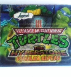 "Картридж Sega ""Turtles the Hyperstone Heist"""