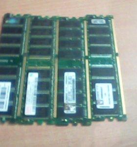4 шт по 1 гб оперативная память цен за 1 шт