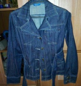 Джинсовый пиджак 44р