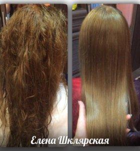 Ламинирование волос эффект БОТОКСА