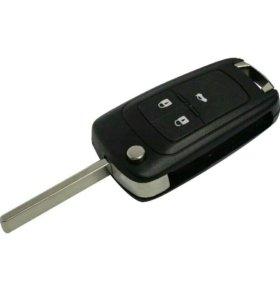 Выкидной ключ-корпус для Шевроле Круз