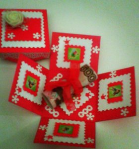 Коробочка для денежных подарков