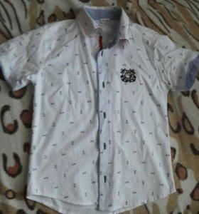 Рубашки на мальчика 4-6 лет