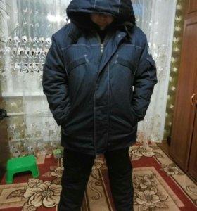 Зимний комплект мужской одежды