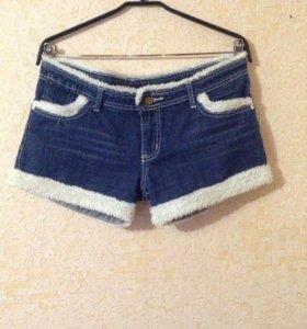 Джинсовые шорты L (48)