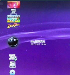 Play Station Slim на 320 Gb