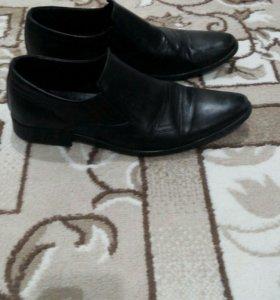 Туфли кожаные б/у 41р.