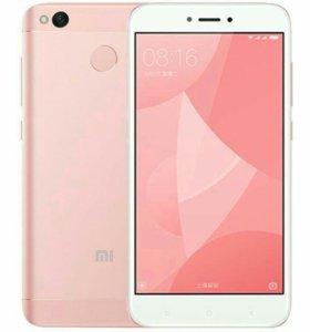 Новый Xiaomi redmi 4x 3/32 розовый.Гарантия.