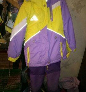 Зимний костюм рост 110