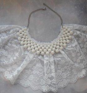 Ожерелье-воротник