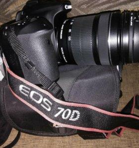 Фотоаппарат Canon eos 70D