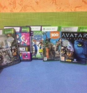 Игровые диски для приставки Xbox 360
