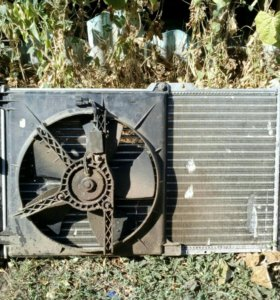 Радиатор охлаждения двигателя дэу нексии