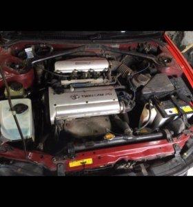 Двигатель 4 age silver top в разбор