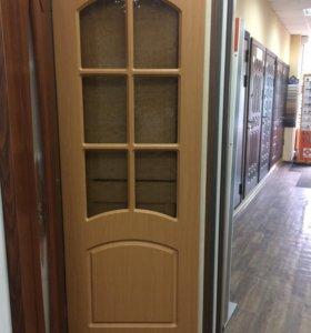 Двери межкомнатные с витрины