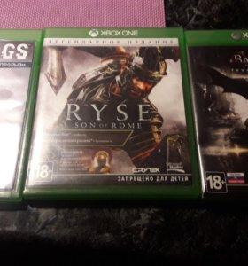 Три игры на Xbox one
