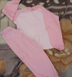 Пижама новая для девочки рост 98