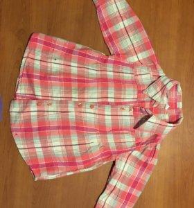 Рубашка для девочки р. 74-80