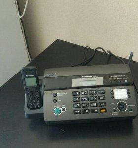 Новый факс panasonic kx- fc968 торг