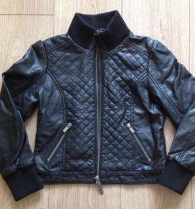 Куртка кожа 134 см
