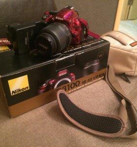 Фотоаппарат зеркалка Nikon D3100 18-55 VR Kit